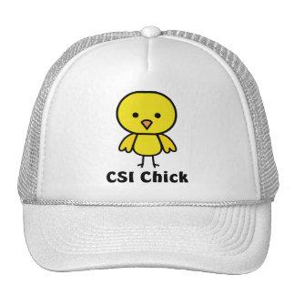CSI Chick Trucker Hats