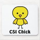 CSI Chick Mouse Pad