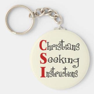 CSI Christian Acronymn Keychain
