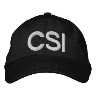 CSI EMBROIDERED BASEBALL CAP
