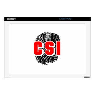 """CSI FINGERPRINT SKINS FOR 17"""" LAPTOPS"""
