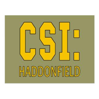 CSI: Haddonfield IL Products Postcard