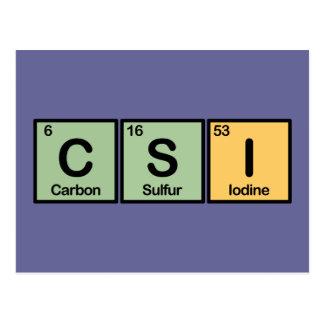 CSI hizo de elementos Postal