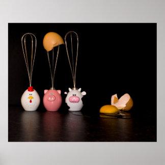 CSI Humpty Dumpty - el poster del desfile de Eggde
