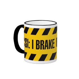 CSI: I Brake for Bodies Coffee Mug