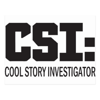 CSI: Investigador fresco de la historia Postal