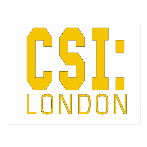 CSI London Products Post Cards