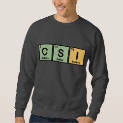 Men's Basic Sweatshirt with CSI design