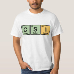 Men's Crew Value T-Shirt with CSI design