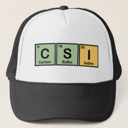 Trucker Hat with CSI design