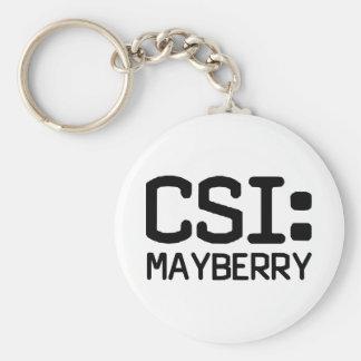 CSI Mayberry Keychain