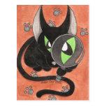 CSI Onyx Cat Post Card