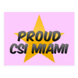 Csi orgulloso Miami Postal