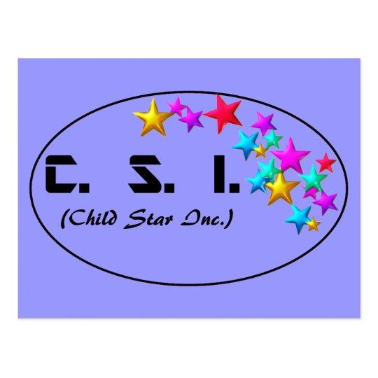 CSI POSTCARD