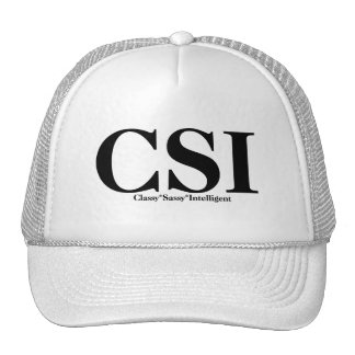 CSI T-shirts and Gifts. Trucker Hat