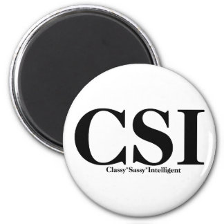 CSI T-shirts and Gifts. Magnet