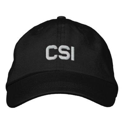 CSI  TV Show Baseball Cap