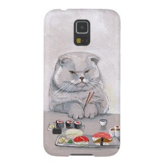©CSiravo de Sr. Grumps del gato del sushi Funda De Galaxy S5