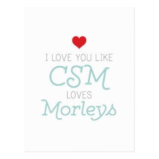 CSM and Morleys Postcard