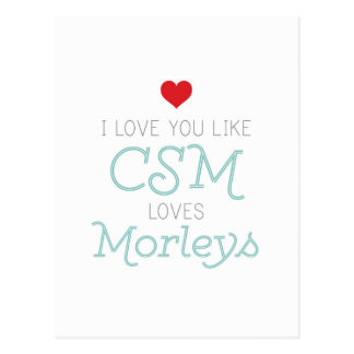 CSM y Morleys Postales