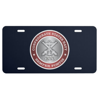 CSN (Semper Fortis) License Plate
