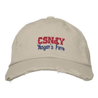 CSN Y Yasgur s Farm Embroidered Baseball Caps