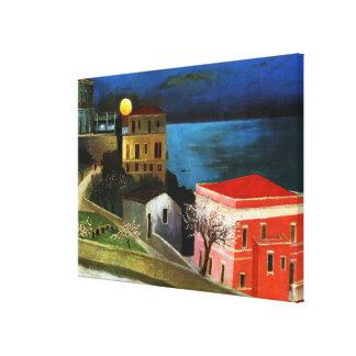 Csontvary - Luna Llena en Taormina (detalle) Lienzo Envuelto Para Galerías