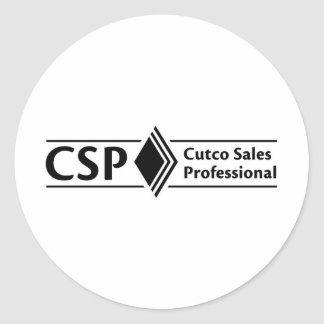 CSP Products Classic Round Sticker