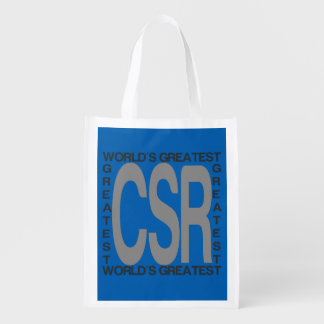 CSR Extraordinaire Reusable Grocery Bag