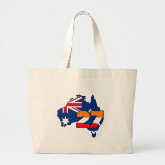 CSREP27austrailianew Large Tote Bag