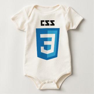 CSS3 Logo Baby Bodysuit