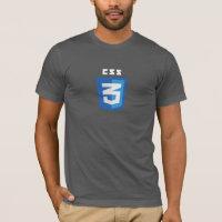 CSS3 T-shirt (Gray)