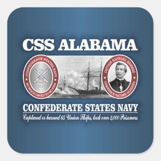 CSS Alabama (CSN) Square Sticker