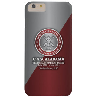 CSS Alabama (SF) Barely There iPhone 6 Plus Case