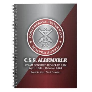 CSS Albemarle (SF) Spiral Notebook