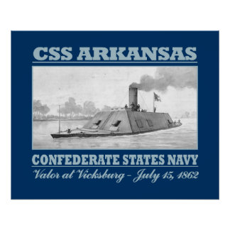 CSS Arkansas (B) Poster