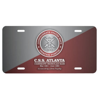 CSS Atlanta (SF) License Plate