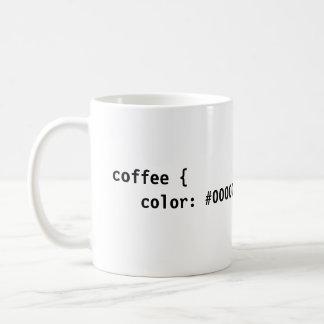 CSS Coffee Classic White Coffee Mug