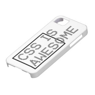 css is awesome iPhone 5 case