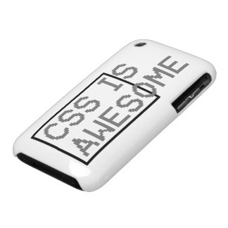 css is awesome Case-Mate iPhone 3 cases