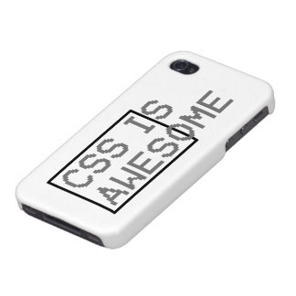 css is awesome iPhone 4/4S case