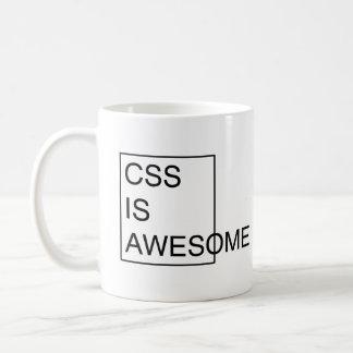 CSS IS AWESOME mug Coffee Mug