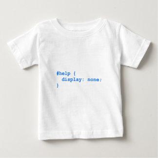 CSS NO help Baby T-Shirt