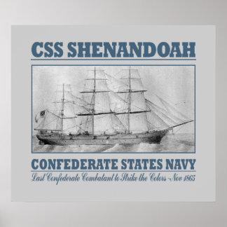 CSS Shenandoah Póster
