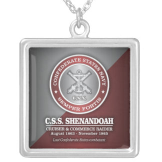 CSS Shenandoah (SF) Silver Plated Necklace
