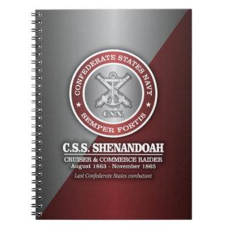 CSS Shenandoah (SF) Spiral Notebook