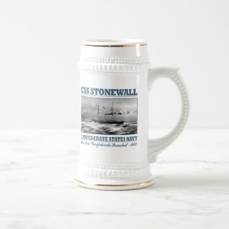 CSS Stonewall Beer Stein