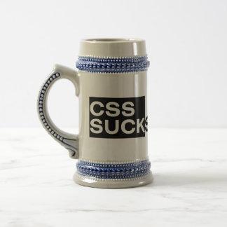 CSS Sucks Beer Stein