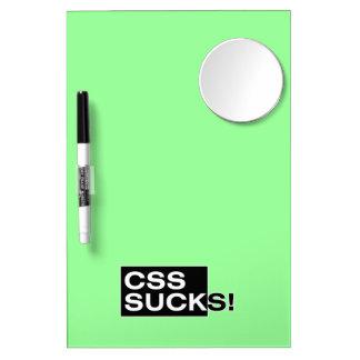 CSS Sucks Dry-Erase Whiteboards
