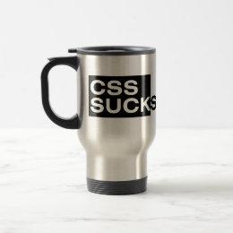 CSS Sucks Travel Mug